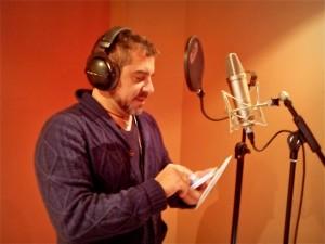 Juan Ochoa en el estudio