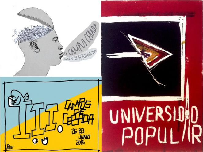 iii-universidad-popular-de-verano-campus-de-cebada-barrio-de-la-latina-madrid-carteles